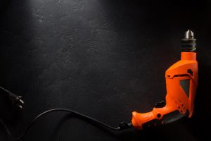 electric drill for testing and tagging