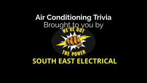 air conditioning trivia