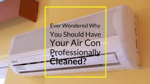 snap of air conditioning cleaning video