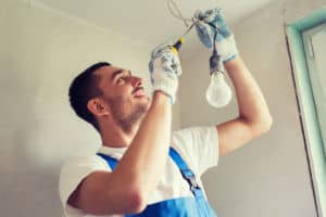 Gold Coast Electricians at work