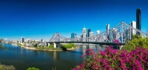 picture of brisbane where our brisbane electricians work